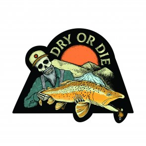 Dry or Die Sticker