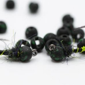 Firehole Speckled Round Stones - Midnight Green