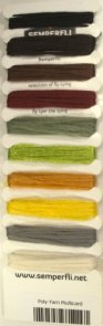 Semperfli Poly-Yarn Multicard