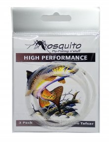 3-pack Mosquito High Performance Leader 9ft