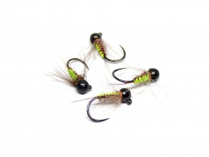 Wooven Pheasant Jig Nymph