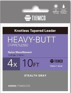 Tiemco Akron Heavy Butt Leader 10ft