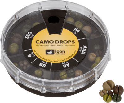 Loon Tin Weights Camo Drop 6 Division