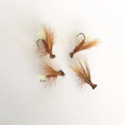 Elk Hair Caddis Röd/Brun #14
