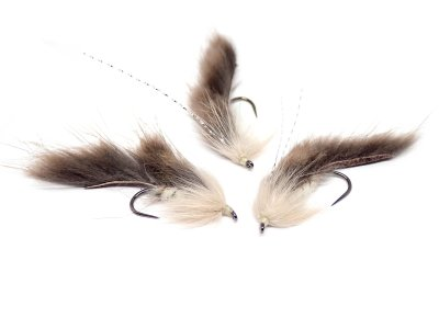 Muskrat Zonker Dark Tan Light