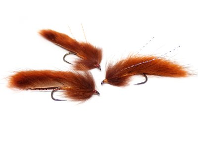 Muskrat Zonker Rusty Brown Light